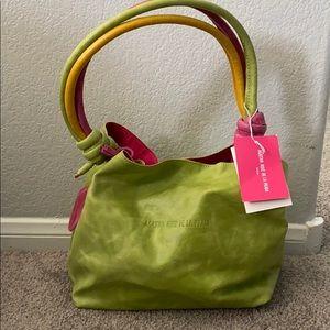 Agatha Ruiz De La Prada Leather Handbag New